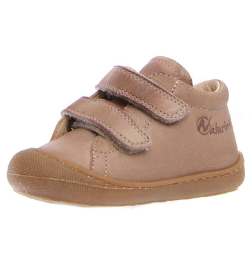 Naturino Girl's & Boy's Cocoon Vl Nappa Spazz. Sneakers - Taupe