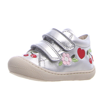 Naturino Girl's Oz Vl Fashion Sneakers - Metallic Silver