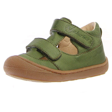 Naturino Girl's & Boy's Puffy Nappa Spazz. Sneakers - Kaki