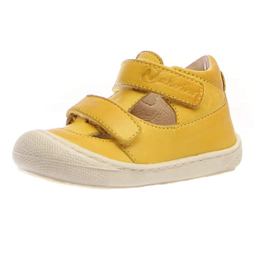 Naturino Girl's & Boy's Puffy Nappa Spazz. Sneakers - Yellow