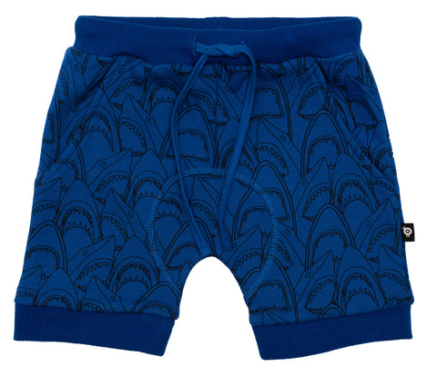 Old Soles Sharkey Dive Slouch Short Blue / Print