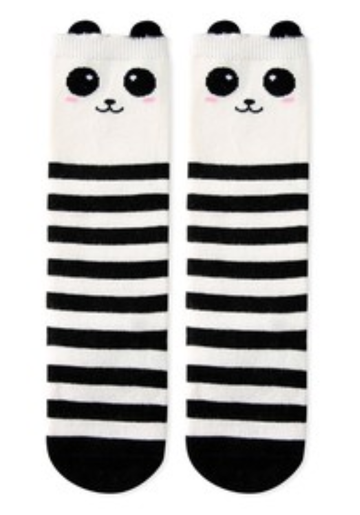 Eva & Elvin Panda Knee Socks