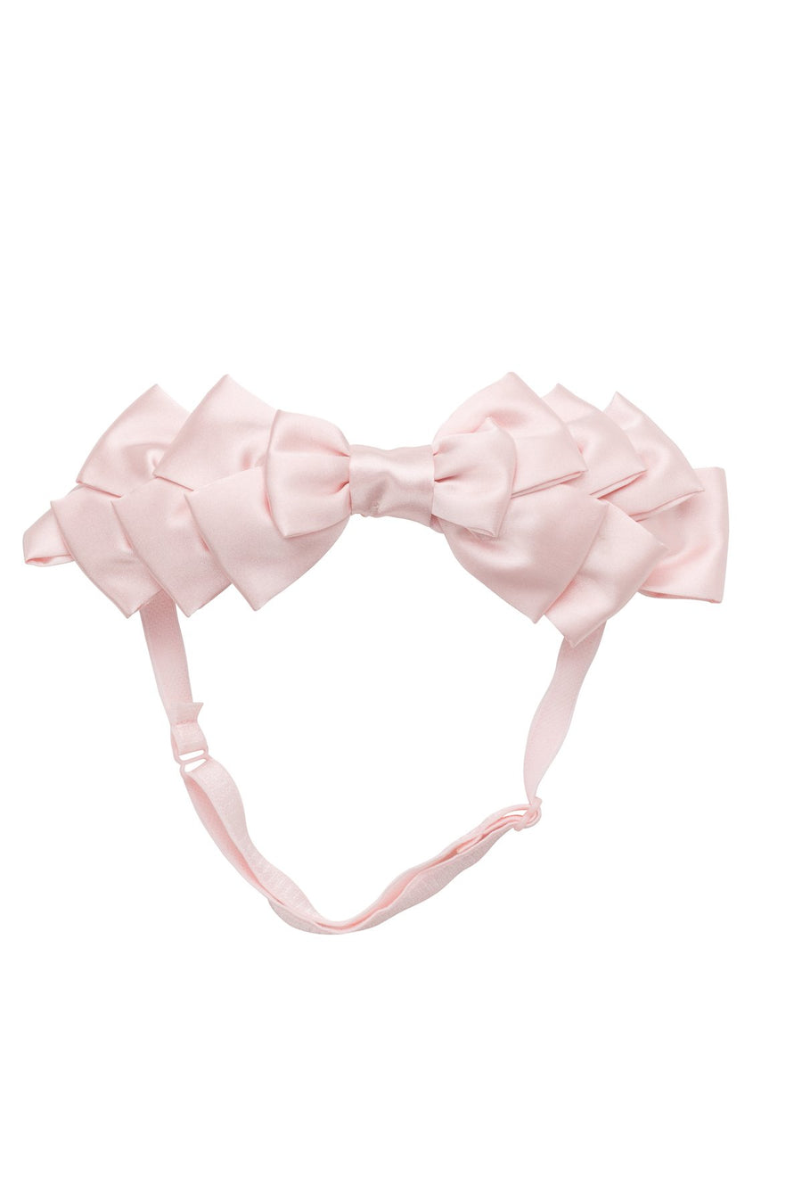 Project 6 NY Blush Pleated Ribbon Wrap