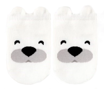 Eva & Elvin Polar Bear Socks