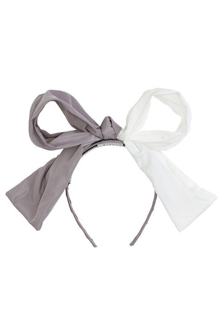 Project 6 NY Grey/White Two-Toned Headband
