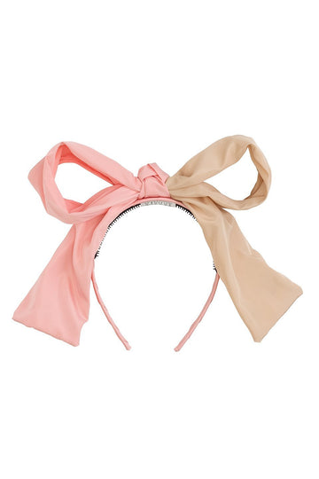 Project 6 NY Blush/Wheat Two-Toned Headband
