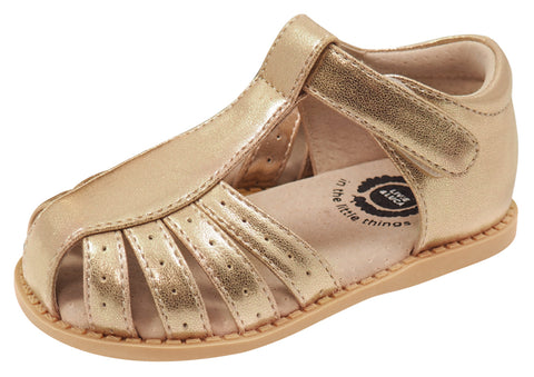 Livie & Luca Girl's Paz Sandal, Gold