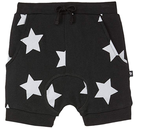 Old Soles Star Slouch Short Black