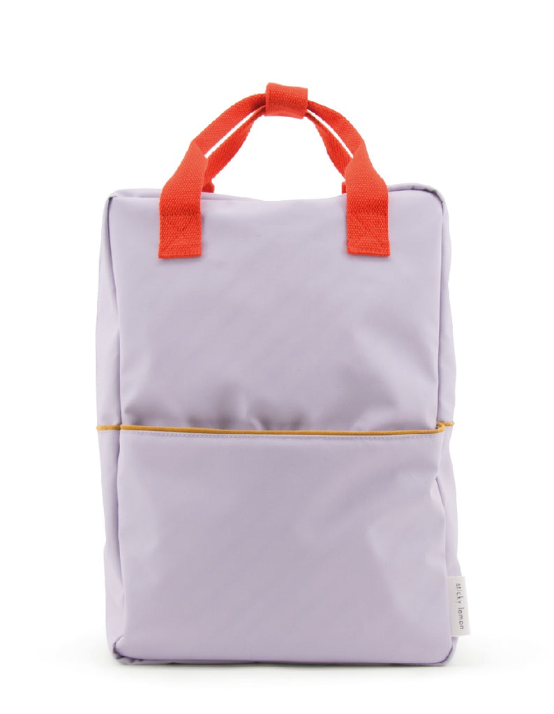 Sticky Lemon Large Backpack, Lavender Corduroy Collection