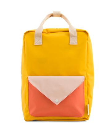Sticky Lemon Large Backpack, Mustard Yellow