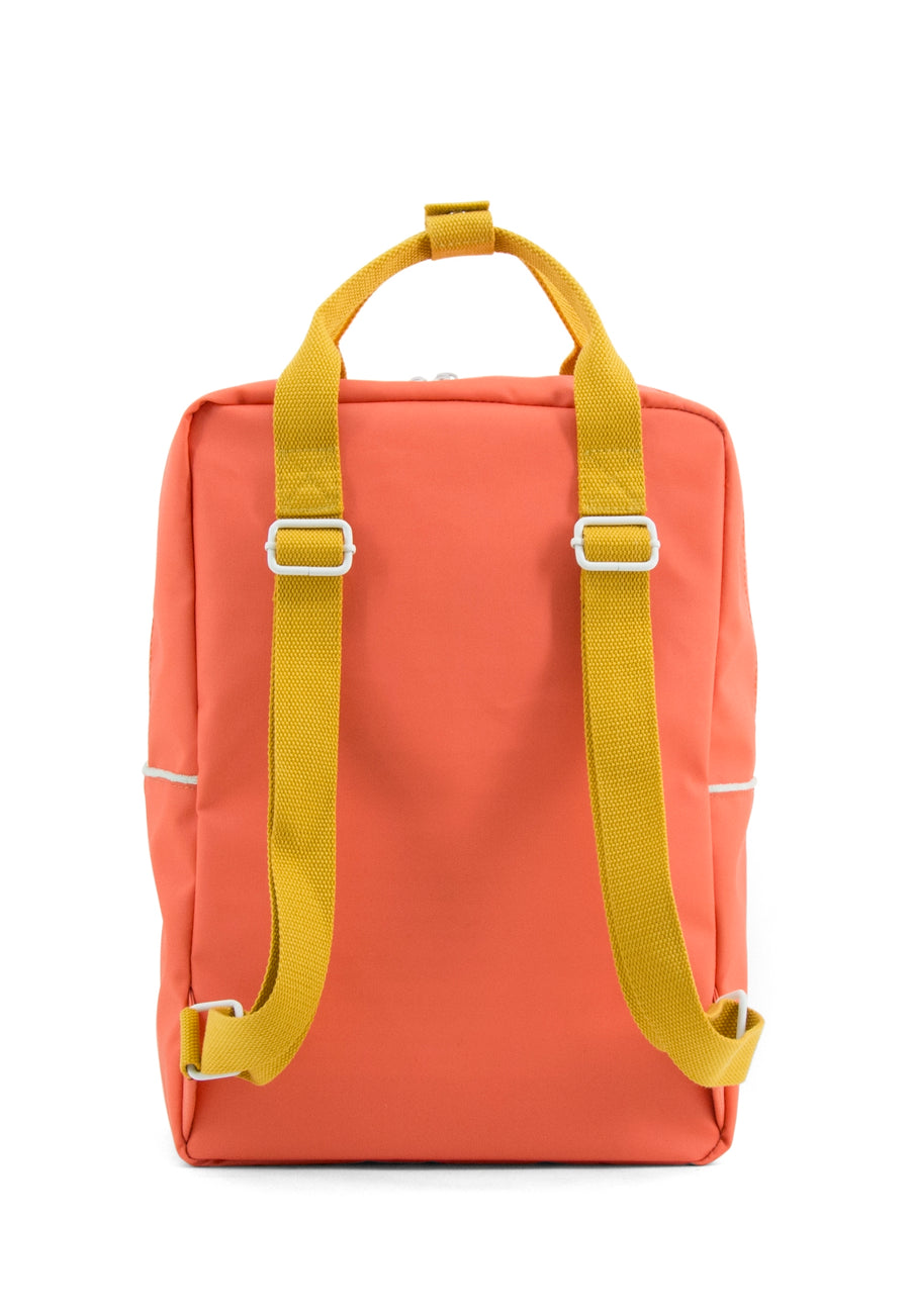Sticky Lemon Large Teddy Backpack, Sporty Red