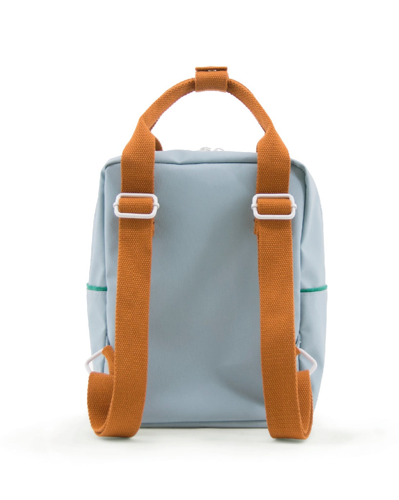 Sticky Lemon Corduroy Collection Small Backpack, Steel Blue