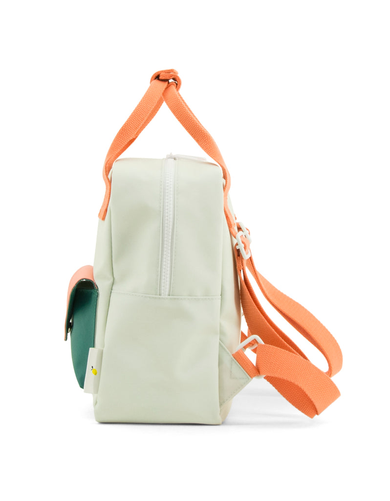 Sticky Lemon Small Backpack, Sea Foam Blue Green