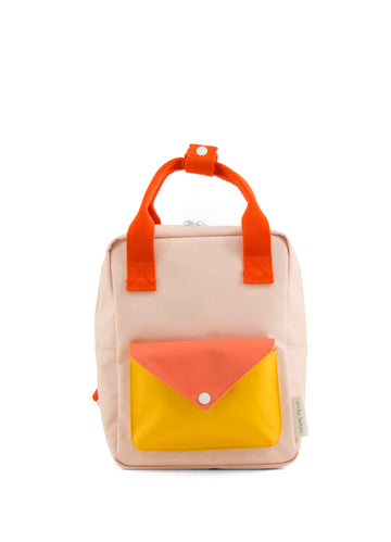 Sticky Lemon Envelope Small Backpack, Soft Pink