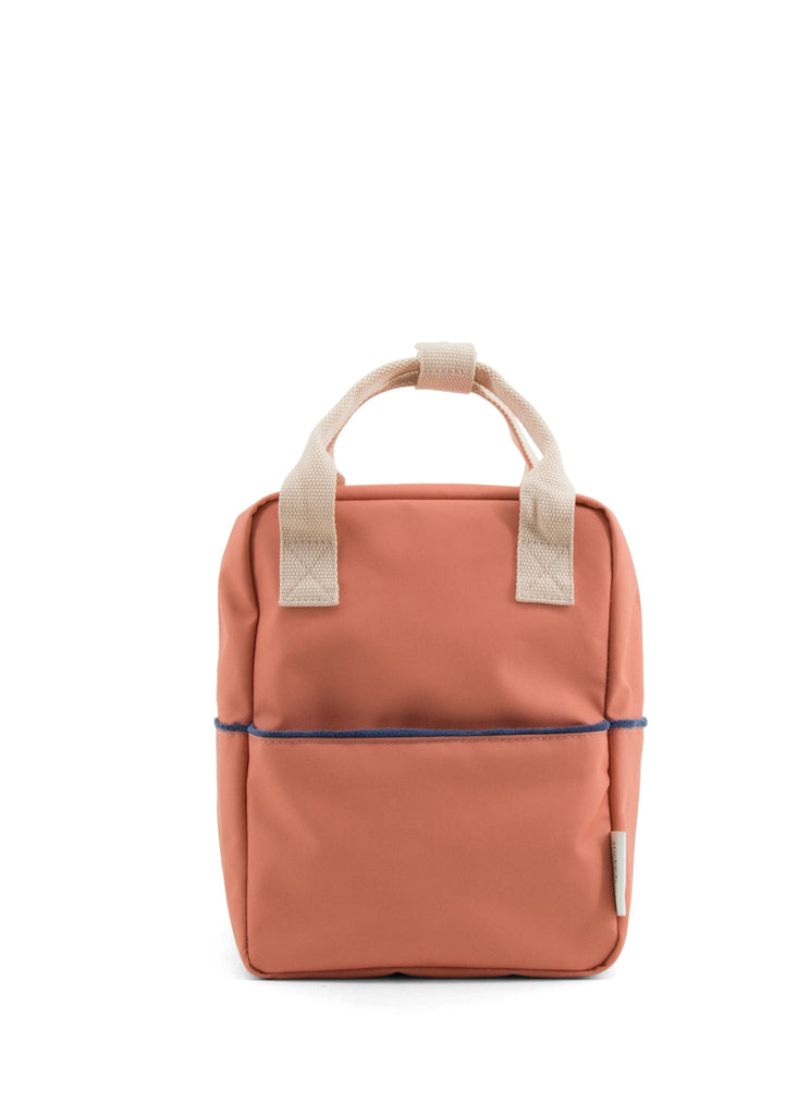 Sticky Lemon Small Backpack, Rusty Red