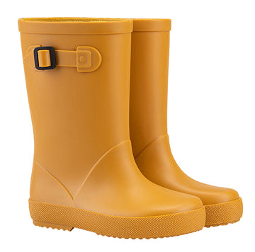 Igor Boy's & Girl's Splash MC Rain Boot, Mostaza