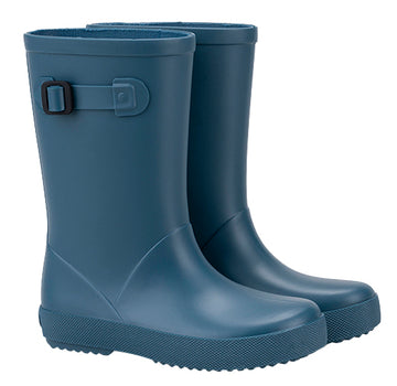 Igor Boy's & Girl's Splash MC Rain Boot, Steel Blue