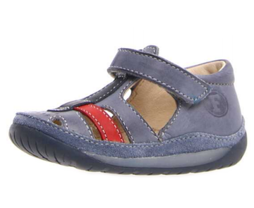 Naturino Falcotto Avalon Shoes, Celeste/Navy/Rosso