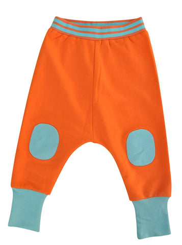 Moromini Vibrant Orange Baggy Pants
