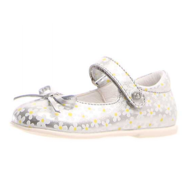 Naturino Ballet Mary Jane Shoes, Argento-Multi