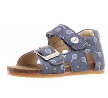 Naturino Falcotto Tennis Bea Open Toe Sandals - Celeste