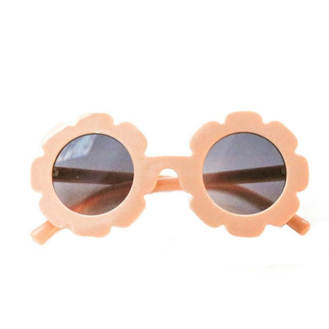 Blueberry Bay Flower Sunglasses, Blush