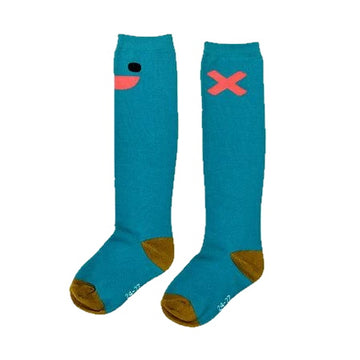 Boxbo High Socks Wistiti Blue S-8