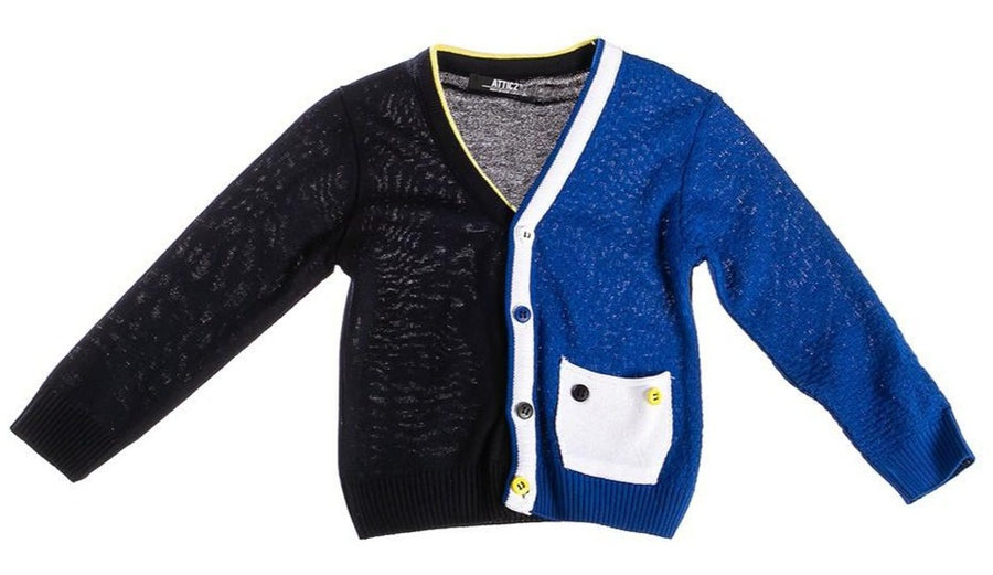 Attic 21 Boy's NSW4238 Cardigan - Multi