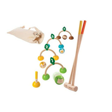 Plan Toys Kids Croquet