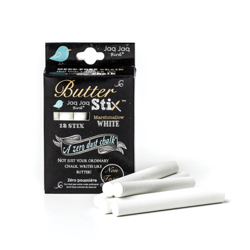 Jaq Jaq Bird ButterStix® - 12 Pack of White