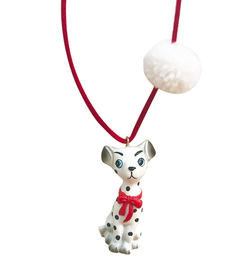 Gunner & Lux Dakota The Dalmatian Necklace