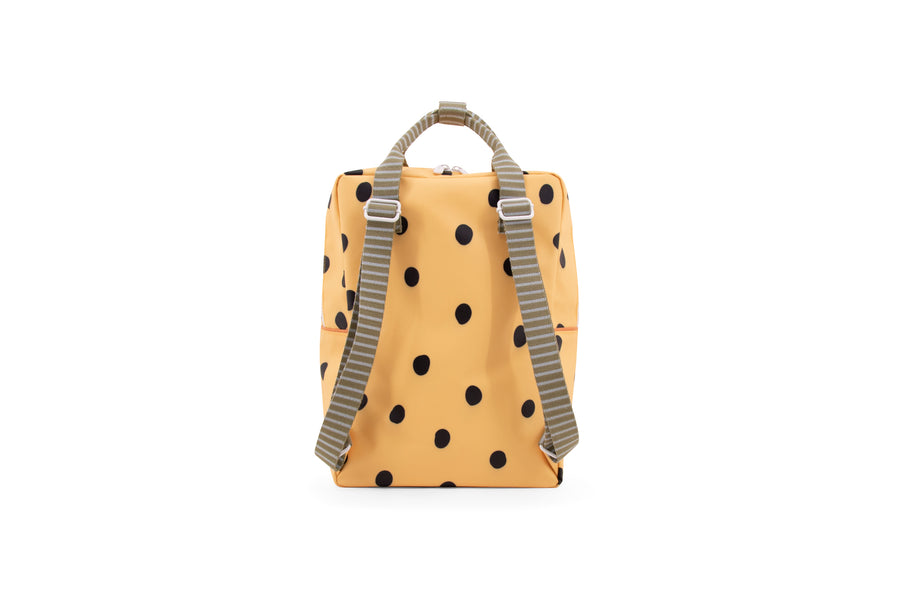Sticky Lemon Special Edition Freckles Collection Large Backpack, Retro Yellow