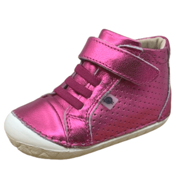 Old Soles Girl's Cheer Pave, Fuchsia Foil