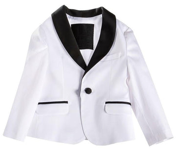 Attic 21 NJK4243 Blazer - White/Black