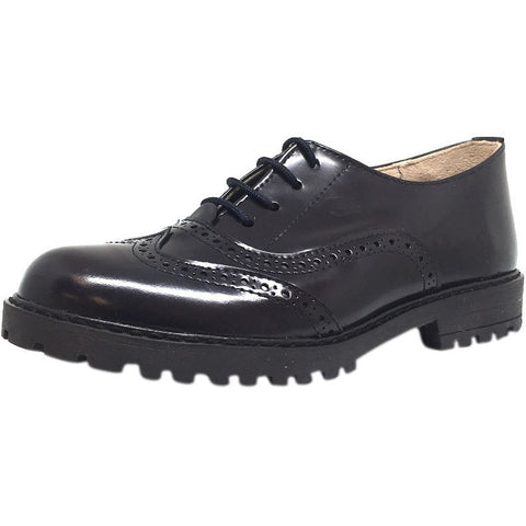 Chupetin Girl's & Boy's 3931 Navy Laced Oxfords