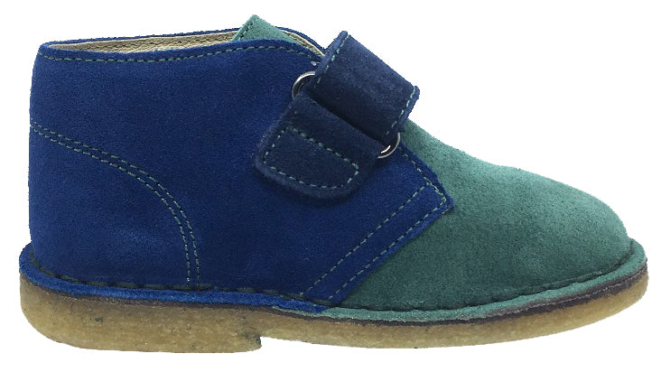 Naturino Boy's and Girl's Chukka Desert Boot, Azzurro-Verdone-Navy