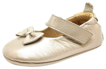 Old Soles Girl's 067 Dream Mary Jane Flat Leather, Beige