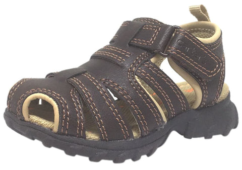 Carter's Boy's Warner's Brown Classic Fisherman Sandals
