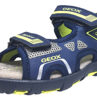 Boy/'s Geox Children Pianeta Sandal in Blue