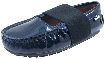 Venettini Navy Cyber Patent Lily Slip-On Moc