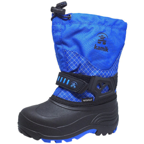 Kamik Dare Kid's Waterproof Weather Thick Durable -40¡F Snow Boots inches - Just Shoes for Kids  - 1