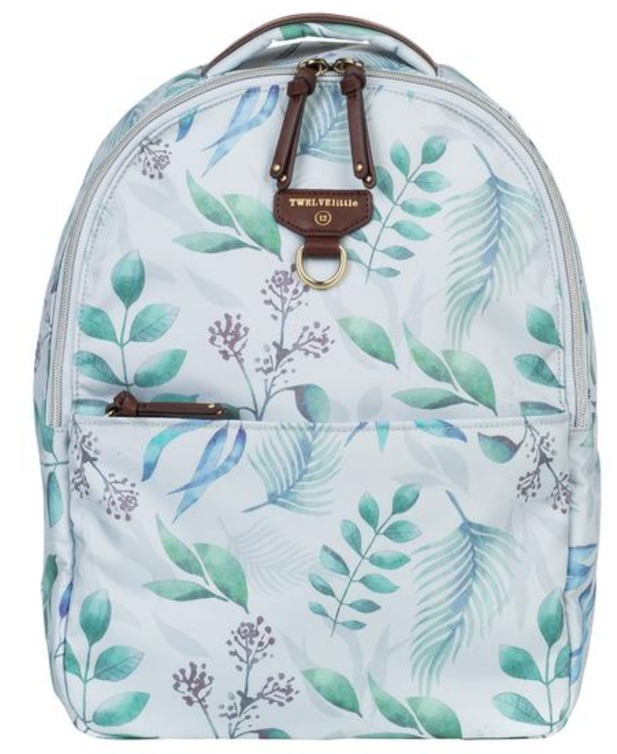 TWELVELittle Mini-Go Backpack, Leaf Print