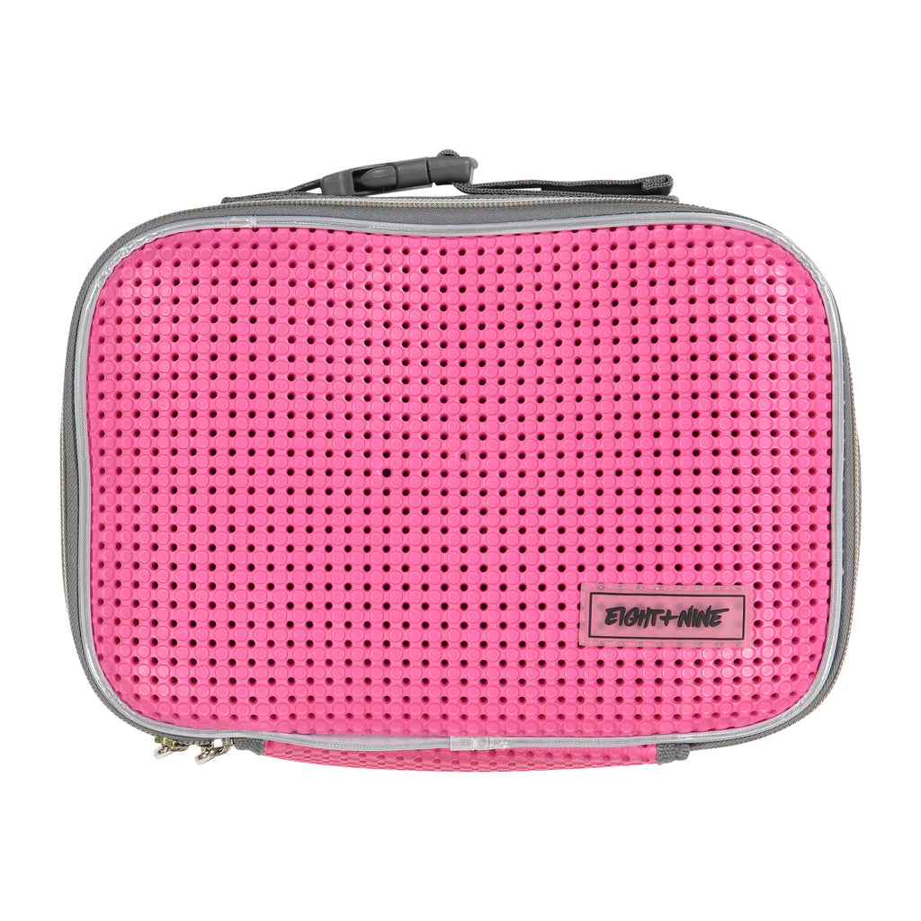 Light + Nine Pink Charm Lunch Box