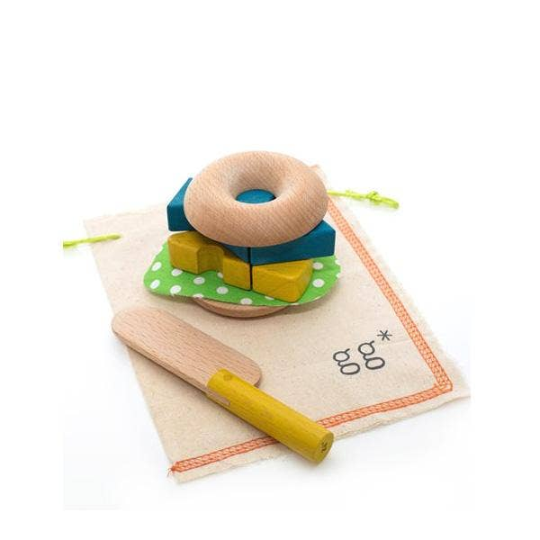 kiko+ & gg* Mamagoto Bagel Play Food Set