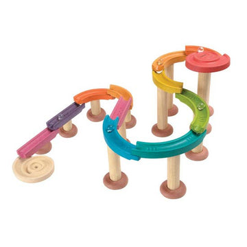 Plan Toys Kids Marble Run - Deluxe