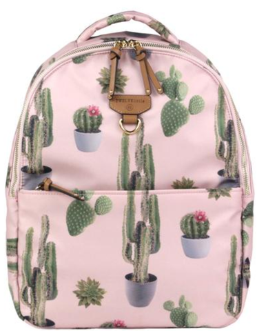 TWELVELittle Mini-Go Cactus Backpack, Pink