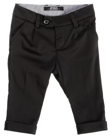 Attic 21 Boy's NPT4242 Pants - Black