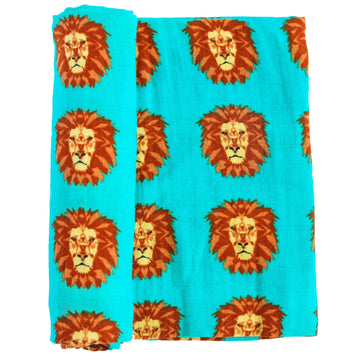 Oliver + Kit Roar Swaddle Blanket