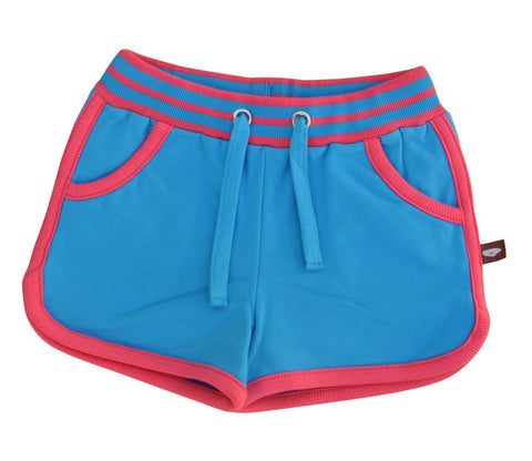 Moromini Grid Blue Jewel Shorts