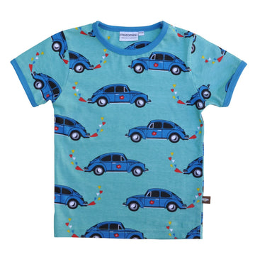Moromini Grandpa's Beetle Car Shirt